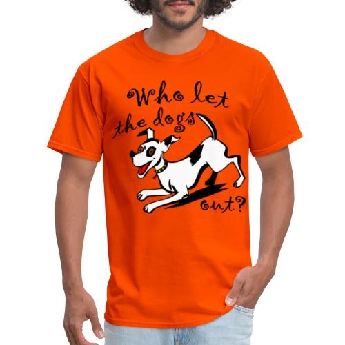 Happy Dog - Men's T-Shirt