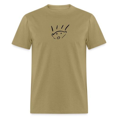 herisson mignon med seul - Men's T-Shirt