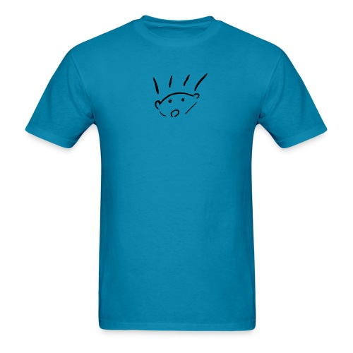 herisson mignon med seul - Men's T-Shirt