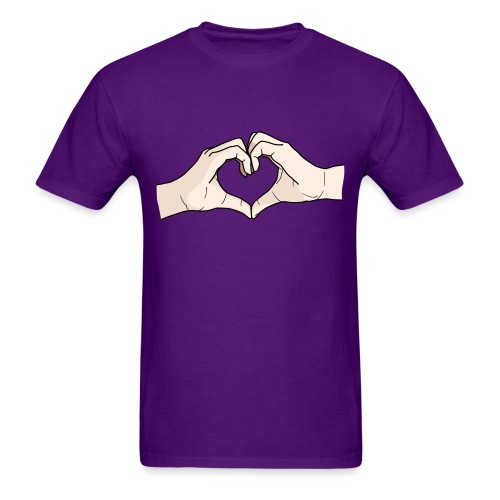 Heart Hands - Men's T-Shirt