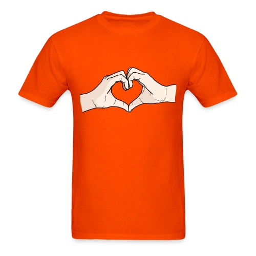 Heart Hands - Men's T-Shirt
