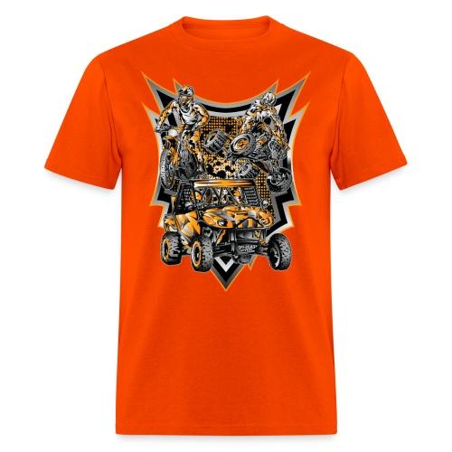 Extreme Life Style Orange - Men's T-Shirt