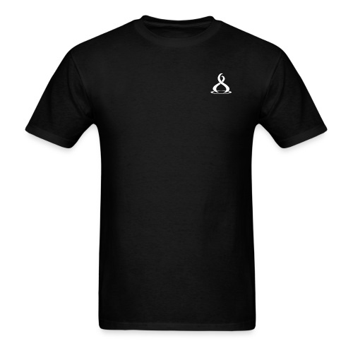 Fire Cryptocurreny Icon White - Men's T-Shirt