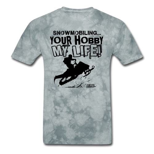 Snowmobile Hobby Life - Men's T-Shirt