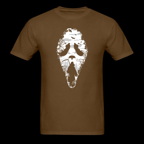Reaper Screams | Scary Halloween - Men's T-Shirt