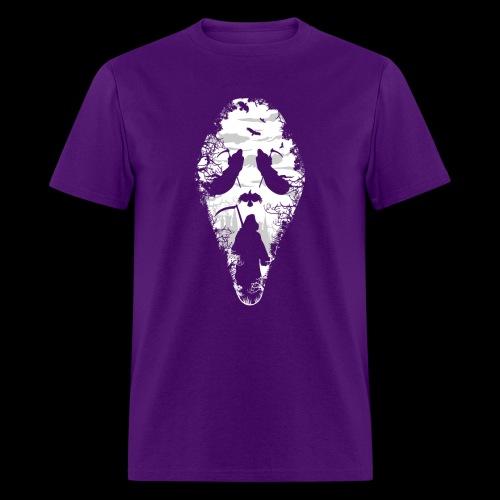 Reaper Screams   Scary Halloween - Men's T-Shirt