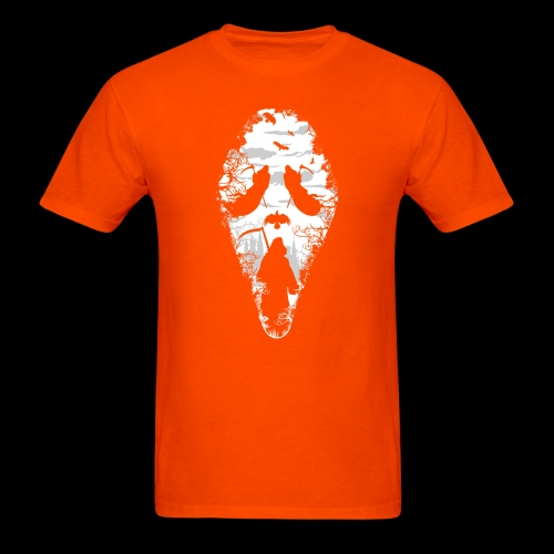 Reaper Screams | Scary Halloween - Men's T-Shirt