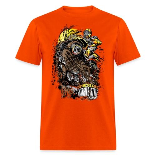 ATV Crawler Orange - Men's T-Shirt