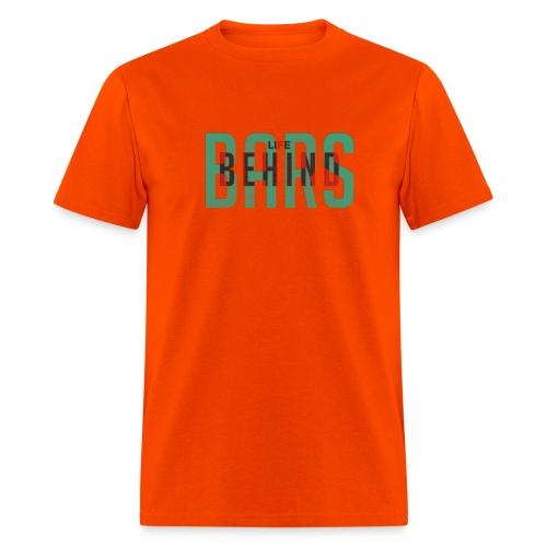 Overlapped LifeBehindBars - Men's T-Shirt