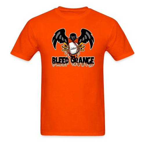 bleed orange shirt LOGO2 png - Men's T-Shirt