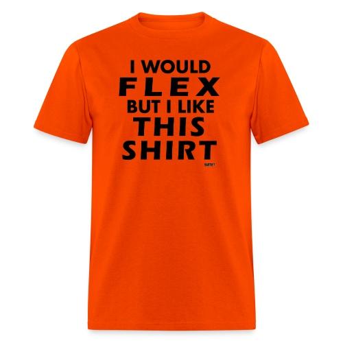Flex blackB png - Men's T-Shirt