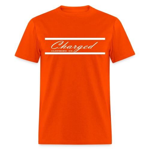 Charged L1ne WHT - Men's T-Shirt