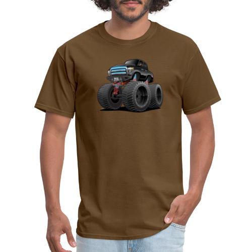 Monster Pickup Truck Cartoon - Men's T-Shirt