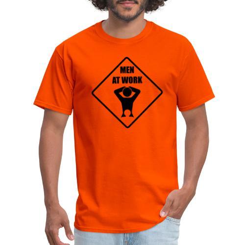 MEN AT WORK - No.001 - Men's T-Shirt