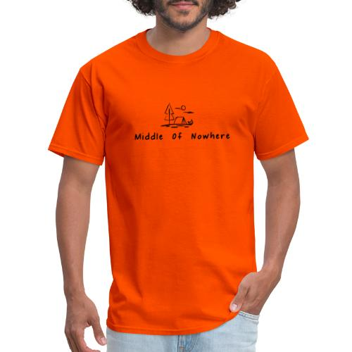 Middle of Nowhere - Men's T-Shirt