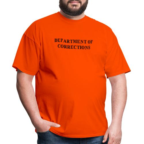 Department of Corrections - Prison uniform - Men's T-Shirt