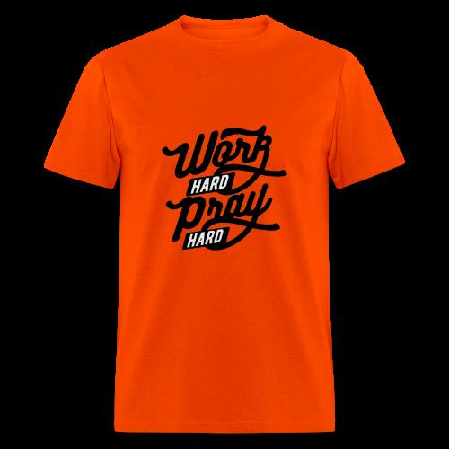 Pray Hard - Men's T-Shirt