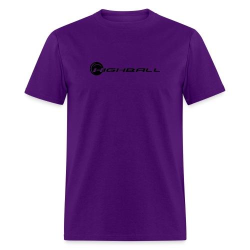 highball logo black and white gif - Men's T-Shirt