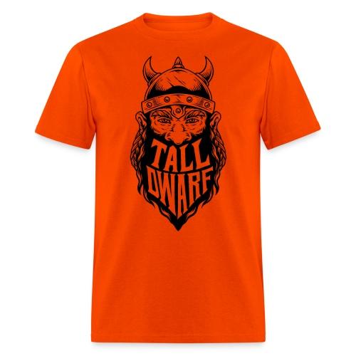 Tall Dwarf Beardcut Logo - Men's T-Shirt