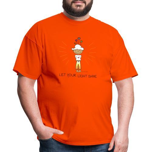 Let your light shine - Men's T-Shirt