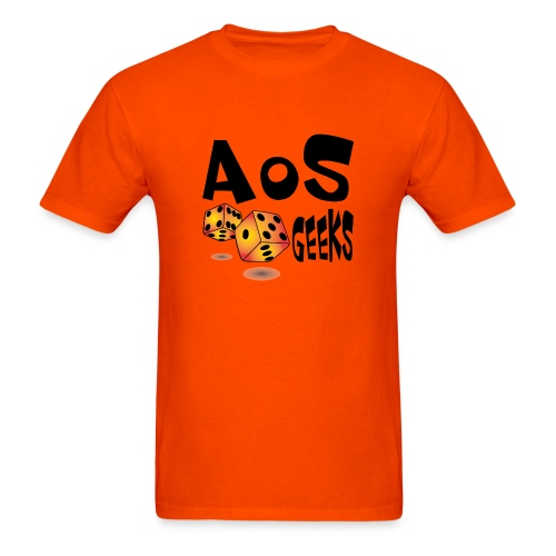 AOS Geeks NOIR - T-shirt pour hommes