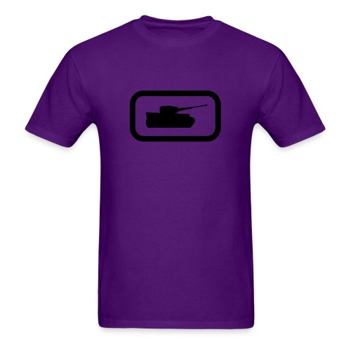 Tank Logo (Black) - Axis & Allies - Men's T-Shirt