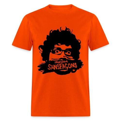 Sansfaçons_derrièrechan - Men's T-Shirt