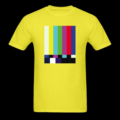 This is a TV Test | Retro Television Broadcast - Men's T-Shirt