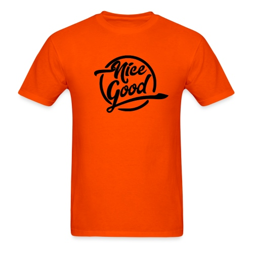 Nice Good - Black - Men's T-Shirt