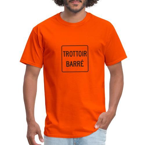 Trottoir Barré - Men's T-Shirt