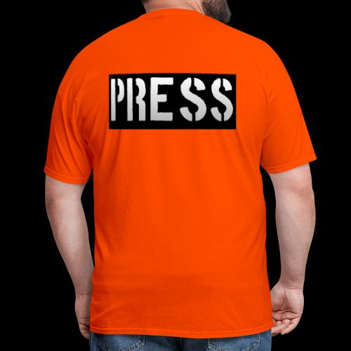 THIS is your PRESS PASS to the WORLD! - Men's T-Shirt
