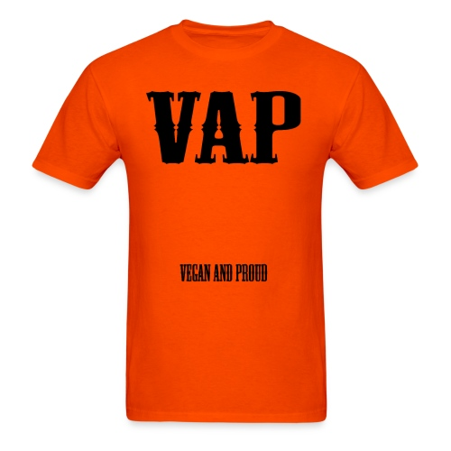 VAP Vegan and Proud - Men's T-Shirt