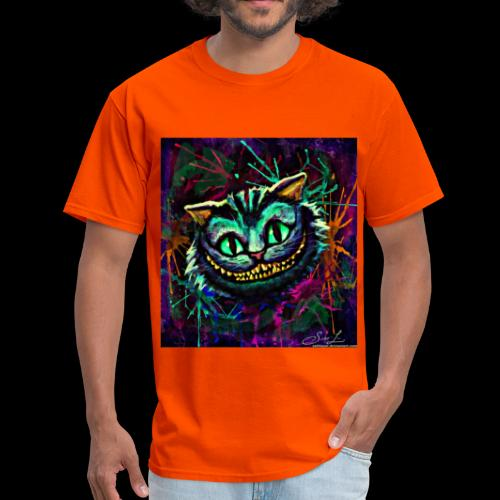 the cheshire cat by ex0tique - Men's T-Shirt