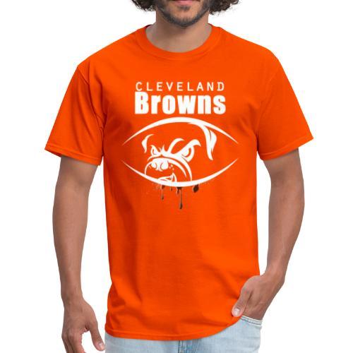 win lose or tie i ll bleed orange brown3 - Men's T-Shirt