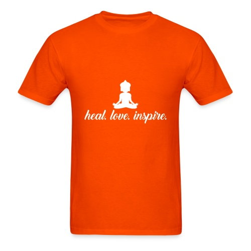 heal. love. inspire. - Men's T-Shirt