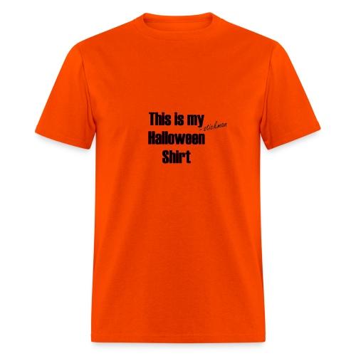 Stickman Halloween Shirt - Men's T-Shirt
