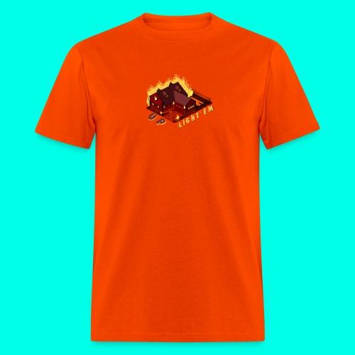 LIGHT'EM UP - Men's T-Shirt
