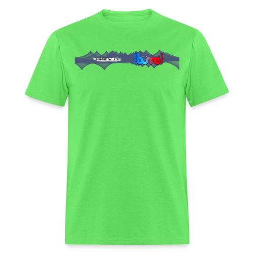 Bunny Metal Banner Logo - Men's T-Shirt