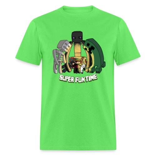 Tee SuperFunTime Version png - Men's T-Shirt