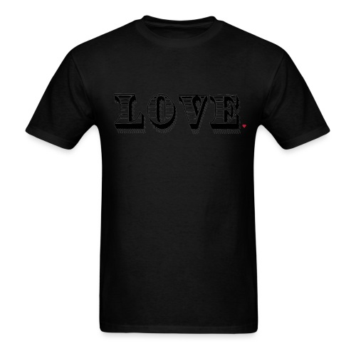 Love Life Hack - Men's T-Shirt