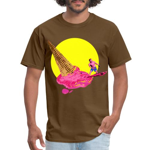 ice cream surfer - Men's T-Shirt
