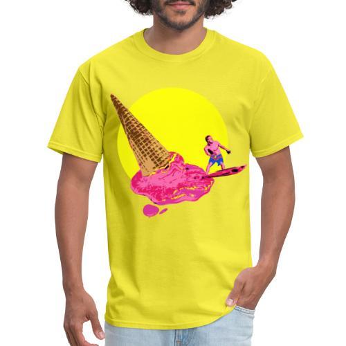 ice cream surfer - Men's T-Shirt