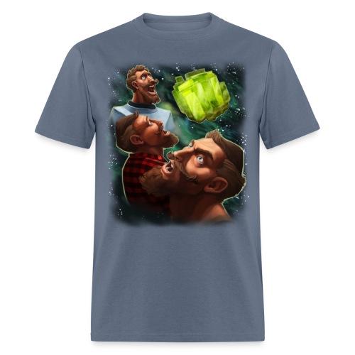three sjin ranium transparentbk png - Men's T-Shirt