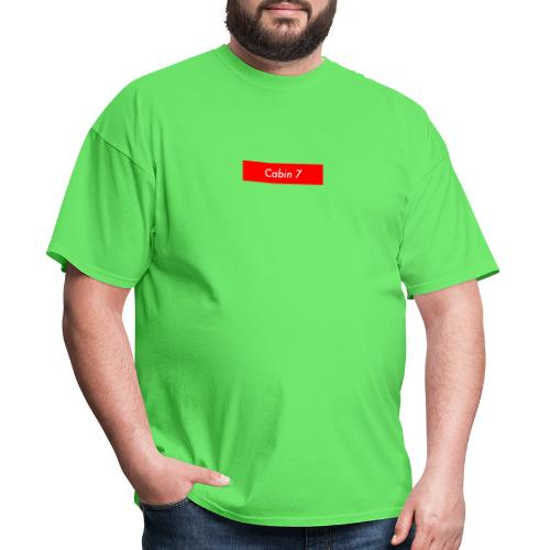 Cabin 7 red box small - Men's T-Shirt