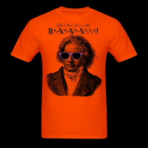 Ba-na-na-naaa! | Classical Music Rockstar - Men's T-Shirt