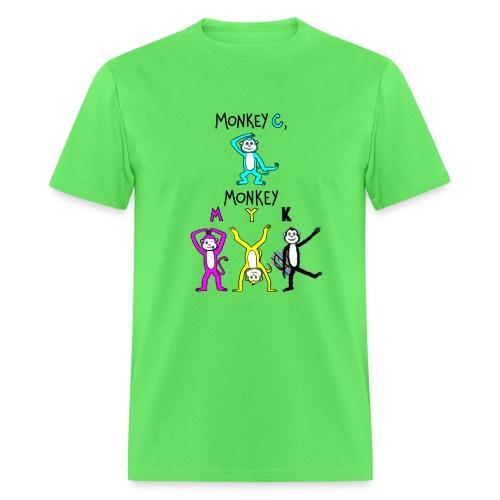 monkey see myk - Men's T-Shirt