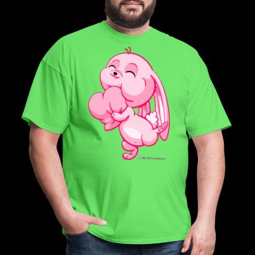 Pink Bunny - Men's T-Shirt