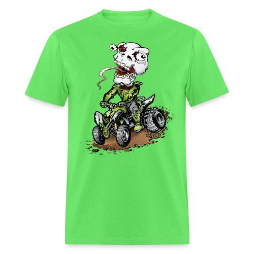 ATV Quad Crazy Skully - Men's T-Shirt