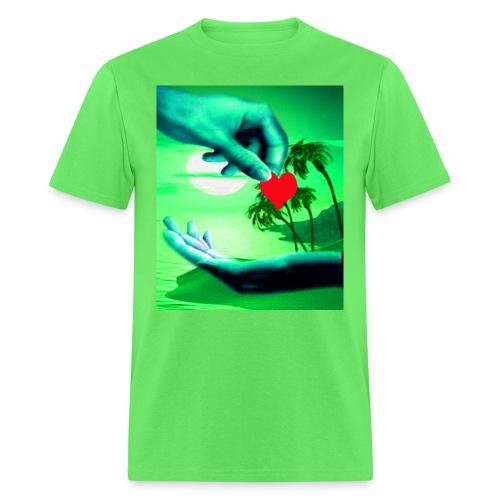 The cheek of my heart - Men's T-Shirt