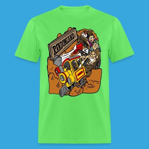 Wild West Mine Train - Men's T-Shirt